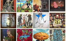"""Lowbrow Art Exhibition """"Orale! Kings and Queens of Cool"""" at the Harwood Museum of Art"""