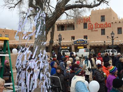 Inauguration Day: Taos Goes High