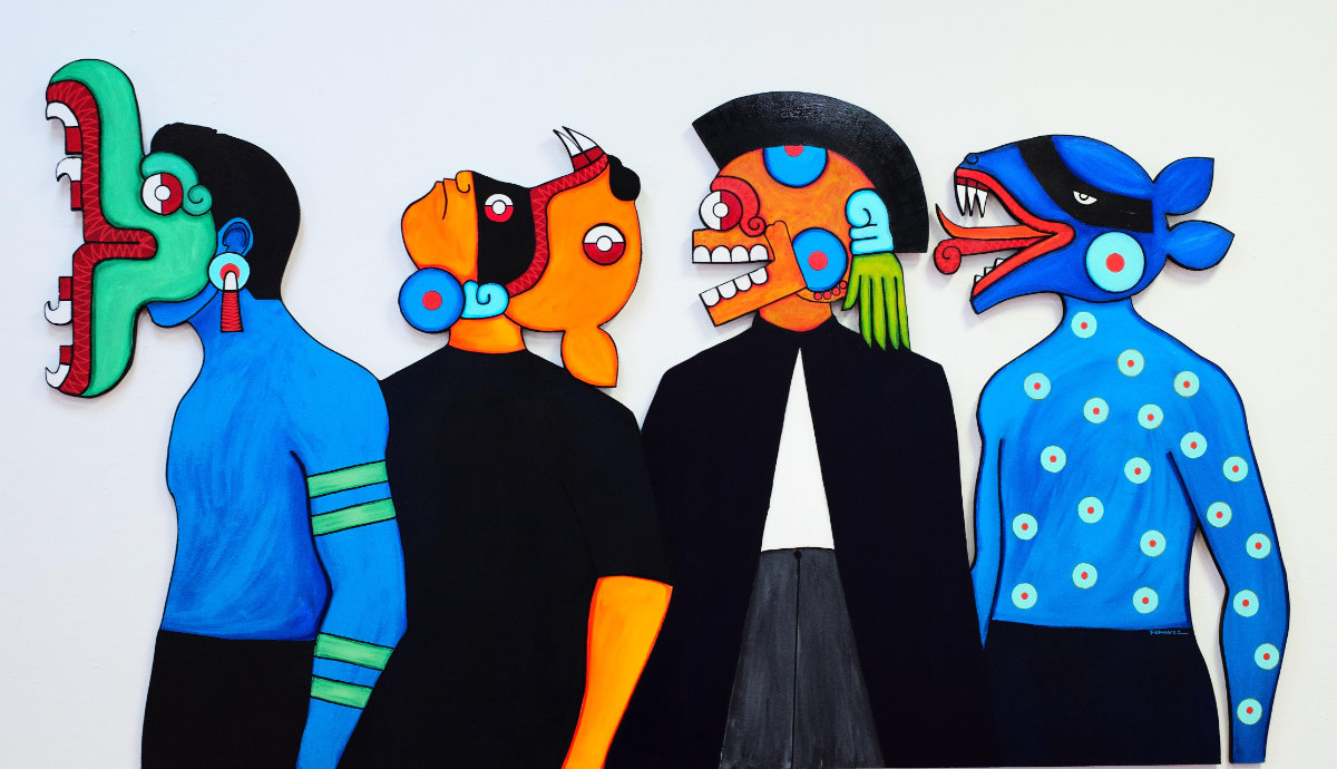 """""""Sovereign Santa Fe"""" pop-up exhibition is curated by Tony Abeyta, acclaimed native artist"""